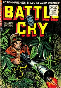 Cover Thumbnail for Battle Cry (Stanley Morse, 1952 series) #20
