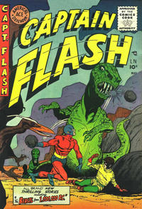 Cover Thumbnail for Captain Flash (Sterling, 1954 series) #3