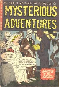 Cover Thumbnail for Mysterious Adventures (Story Comics, 1951 series) #17