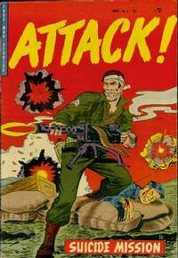 Cover Thumbnail for Attack! (Trojan Magazines, 1953 series) #6 [2]