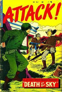 Cover Thumbnail for Attack! (Trojan Magazines, 1953 series) #7 [3]