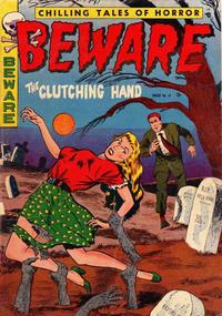 Cover Thumbnail for Beware (Trojan Magazines, 1953 series) #14 [2]