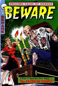 Cover Thumbnail for Beware (Trojan Magazines, 1953 series) #15 [3]
