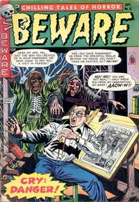 Cover Thumbnail for Beware (Trojan Magazines, 1953 series) #11