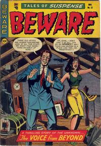 Cover Thumbnail for Beware (Trojan Magazines, 1953 series) #12