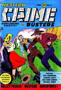 Cover Thumbnail for Western Crime Busters (Trojan Magazines, 1950 series) #9