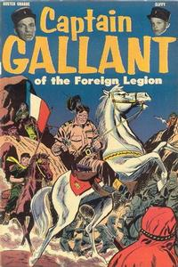 Cover Thumbnail for Captain Gallant of the Foreign Legion (US Pictorial, 1955 series)