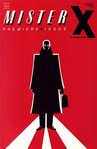 Cover for Mister X (Vortex, 1984 series) #1