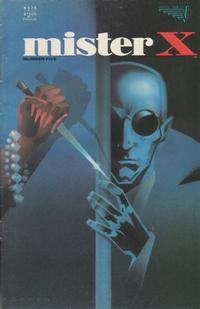 Cover Thumbnail for Mister X (Vortex, 1984 series) #5
