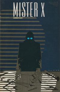 Cover Thumbnail for Mister X (Vortex, 1984 series) #8