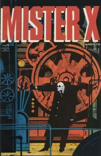 Cover Thumbnail for Mister X (Vortex, 1984 series) #10