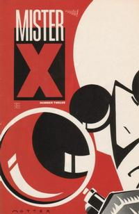Cover Thumbnail for Mister X (Vortex, 1984 series) #12