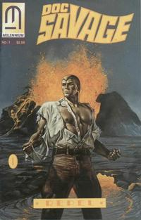 Cover Thumbnail for Doc Savage: The Man of Bronze - Repel (Millennium Publications, 1993 series) #1