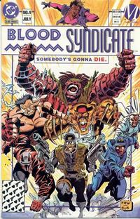 Cover Thumbnail for Blood Syndicate (DC, 1993 series) #4 [Direct]