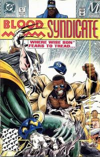 Cover Thumbnail for Blood Syndicate (DC, 1993 series) #7 [Direct]