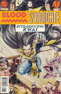 Cover Thumbnail for Blood Syndicate (DC, 1993 series) #8 [Direct Sales]