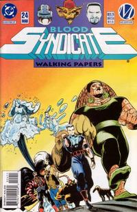 Cover Thumbnail for Blood Syndicate (DC, 1993 series) #24