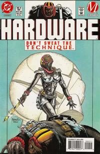 Cover Thumbnail for Hardware (DC, 1993 series) #9 [Direct Sales]