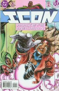 Cover Thumbnail for Icon (DC, 1993 series) #7 [Direct Sales]