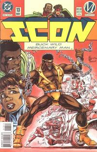 Cover Thumbnail for Icon (DC, 1993 series) #13 [Direct Sales]