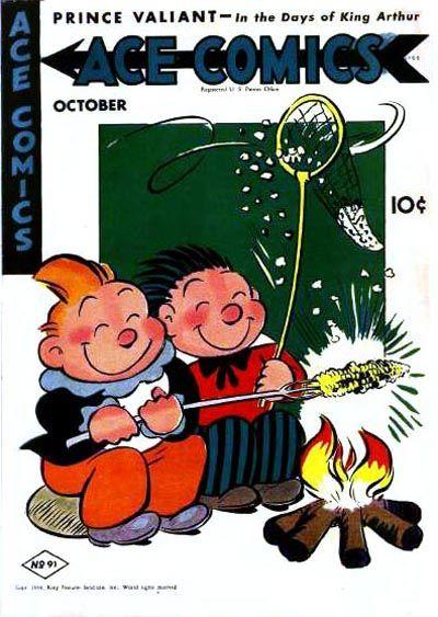 Cover for Ace Comics (David McKay, 1937 series) #91