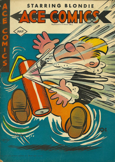 Cover for Ace Comics (David McKay, 1937 series) #100