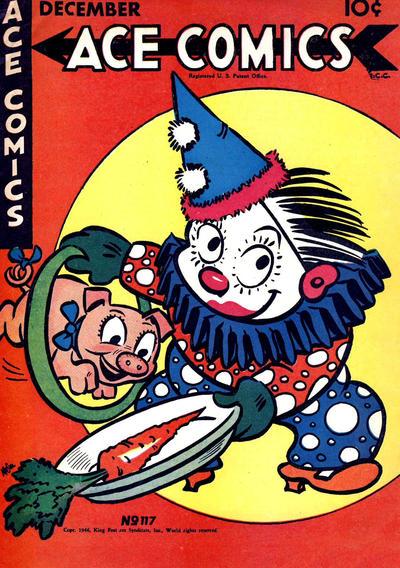 Cover for Ace Comics (David McKay, 1937 series) #117