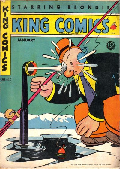Cover for King Comics (David McKay, 1936 series) #93