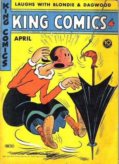 Cover for King Comics (David McKay, 1936 series) #96