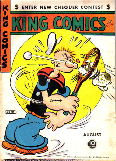 Cover for King Comics (David McKay, 1936 series) #112