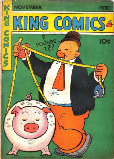 Cover for King Comics (David McKay, 1936 series) #115