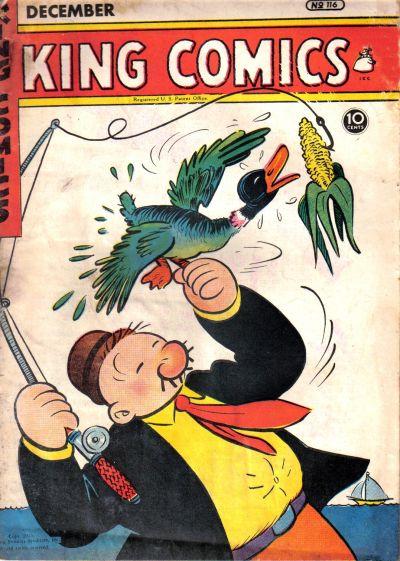 Cover for King Comics (David McKay, 1936 series) #116