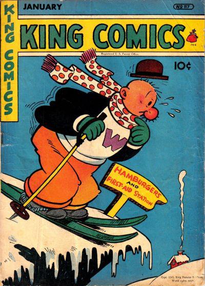Cover for King Comics (David McKay, 1936 series) #117