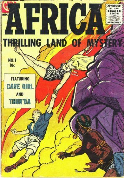 Cover for Africa (Magazine Enterprises, 1955 series) #1
