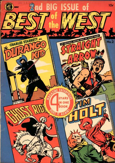 Cover for Best of the West (Magazine Enterprises, 1951 series) #2 [A-1 #46]