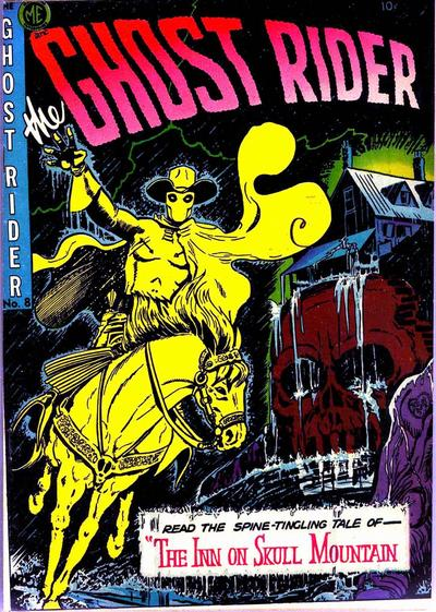 Cover for The Ghost Rider (Magazine Enterprises, 1950 series) #8 [A-1 #57]