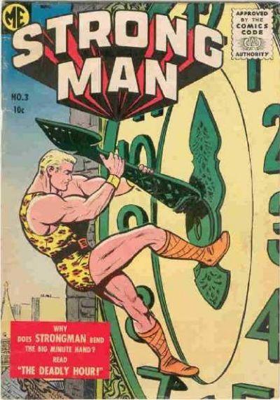 Cover for Strongman (Magazine Enterprises, 1955 series) #3 [A-1 #134]