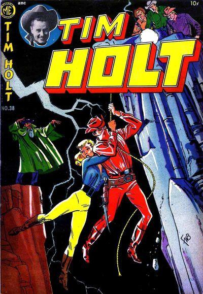 Cover for Tim Holt (Magazine Enterprises, 1948 series) #38