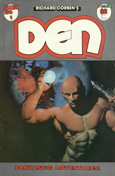 Cover for Den (Fantagor Press, 1988 series) #1