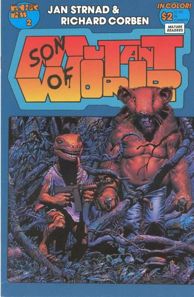 Cover for Son of Mutant World (Fantagor Press, 1990 series) #2
