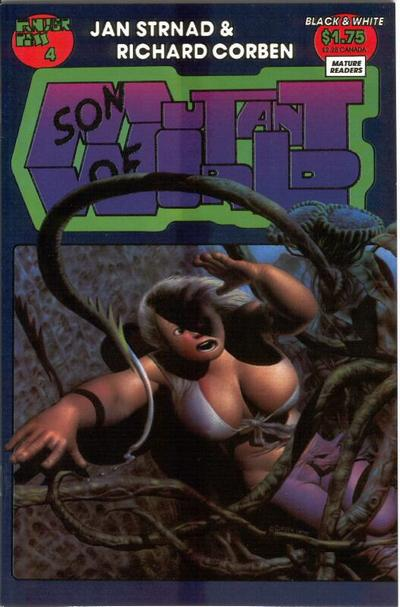 Cover for Son of Mutant World (Fantagor Press, 1990 series) #4