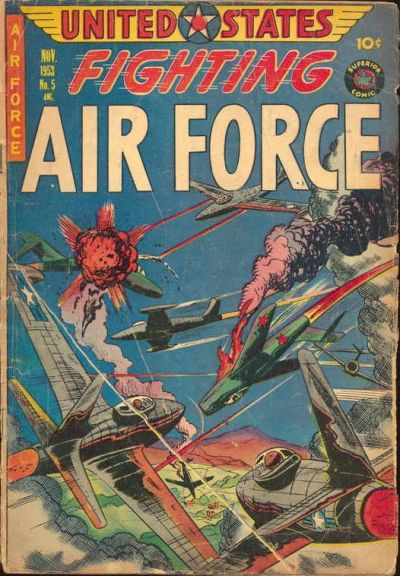 Cover for U.S. Fighting Air Force (Superior Publishers Limited, 1952 series) #5