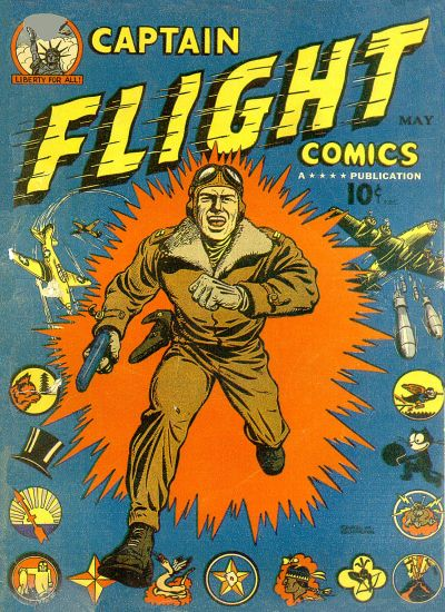 Cover for Captain Flight Comics (Four Star Publications, 1944 series) #2