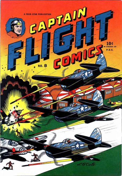 Cover for Captain Flight Comics (Four Star Publications, 1944 series) #8