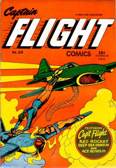 Cover for Captain Flight Comics (Four Star Publications, 1944 series) #10