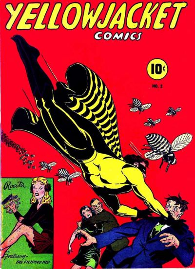 Cover for Yellowjacket Comics (Charlton, 1944 series) #2