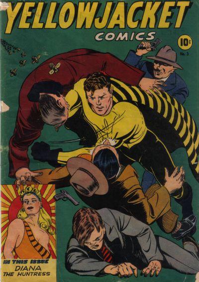 Cover for Yellowjacket Comics (Charlton, 1944 series) #3