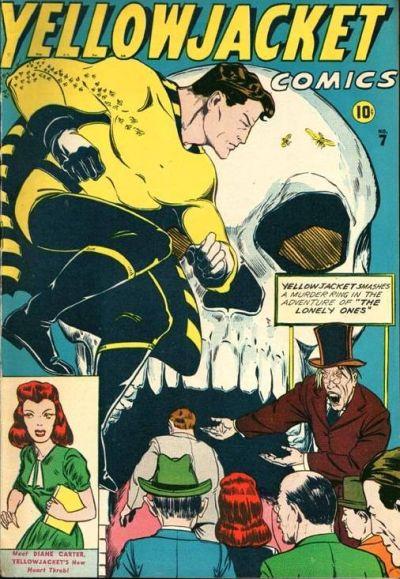 Cover for Yellowjacket Comics (Charlton, 1944 series) #7
