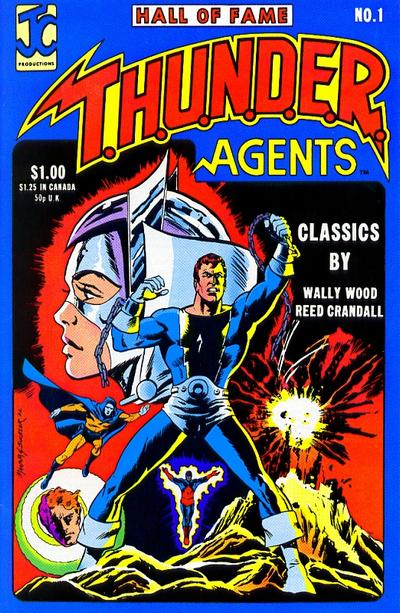 Cover for Hall of Fame Featuring the T.H.U.N.D.E.R. Agents (JC Comics, 1983 series) #1