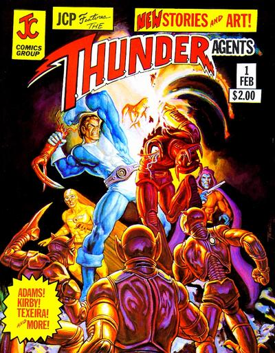 Cover for JCP Features [JCP Features the T.H.U.N.D.E.R. Agents] (JC Comics, 1981 series) #1